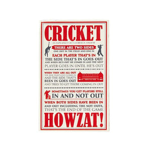 "LORD'S ""CRICKET AS EXPLAINED"" MAGNET"