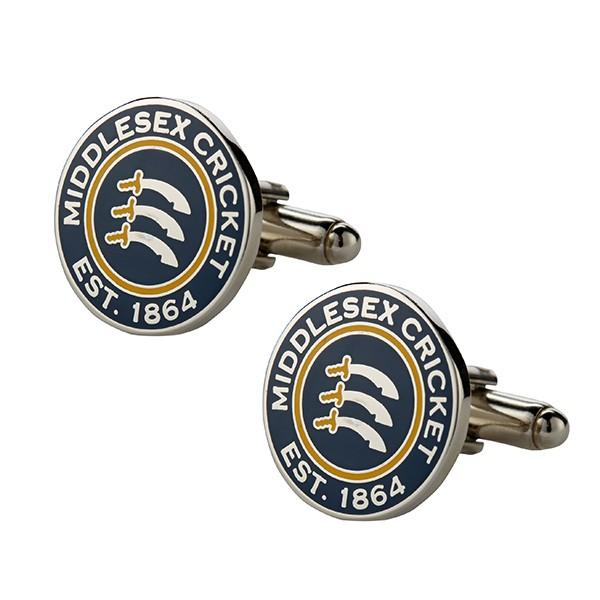 MIDDLESEX CRICKET CUFFLINKS