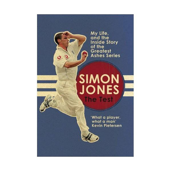THE TEST - MY LIFE BY SIMON JONES - SIGNED BY THE AUTHOR