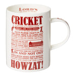 "LORD'S ""CRICKET AS EXPLAINED"" MUG"