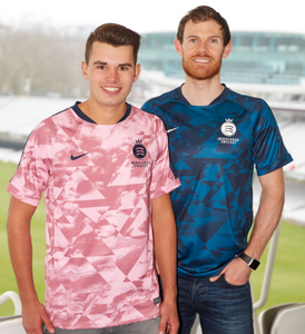 MIDDLESEX CRICKET PINK HYPER FLASH TRAINING TOP - ADULT