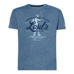 LORD'S BLUE GRINDLE DISTRESS T-SHIRT