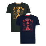ASHES URN NAVY/RED T-SHIRT