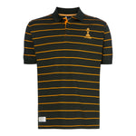 ASHES URN BOTTLE/YELLOW STRIPED POLO SHIRT