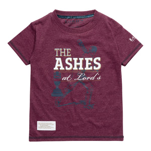ASHES URN BURGUNDY CHILDREN'S T-SHIRT