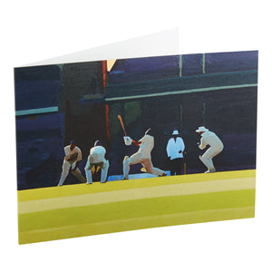 LAST BALL, 6.45 p.m. FROM THE BOUNDARY, 3rd JANUARY 2003 AT SYDNEY CRICKET GROUND (No: 11), 2003 - GREETING CARD & ENVELOPE