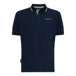 LORD'S PIQUÉ POLO SHIRT NAVY/GREEN