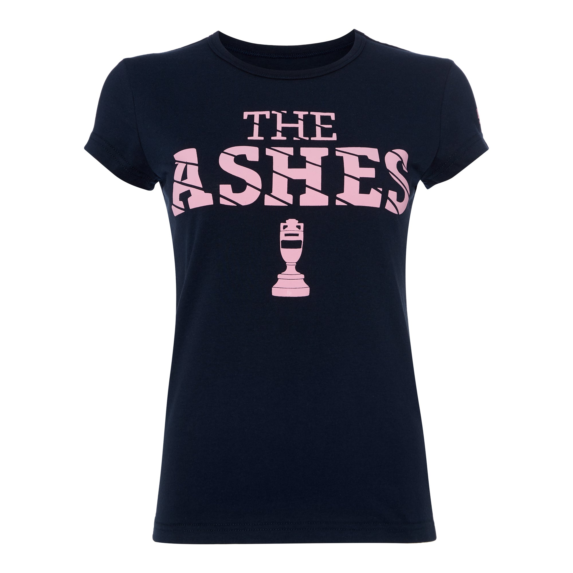 ASHES URN PUFF PRINT NAVY/PINK T-SHIRT