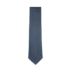 LORD'S CRICKET BALL & WICKETS SILK TIE