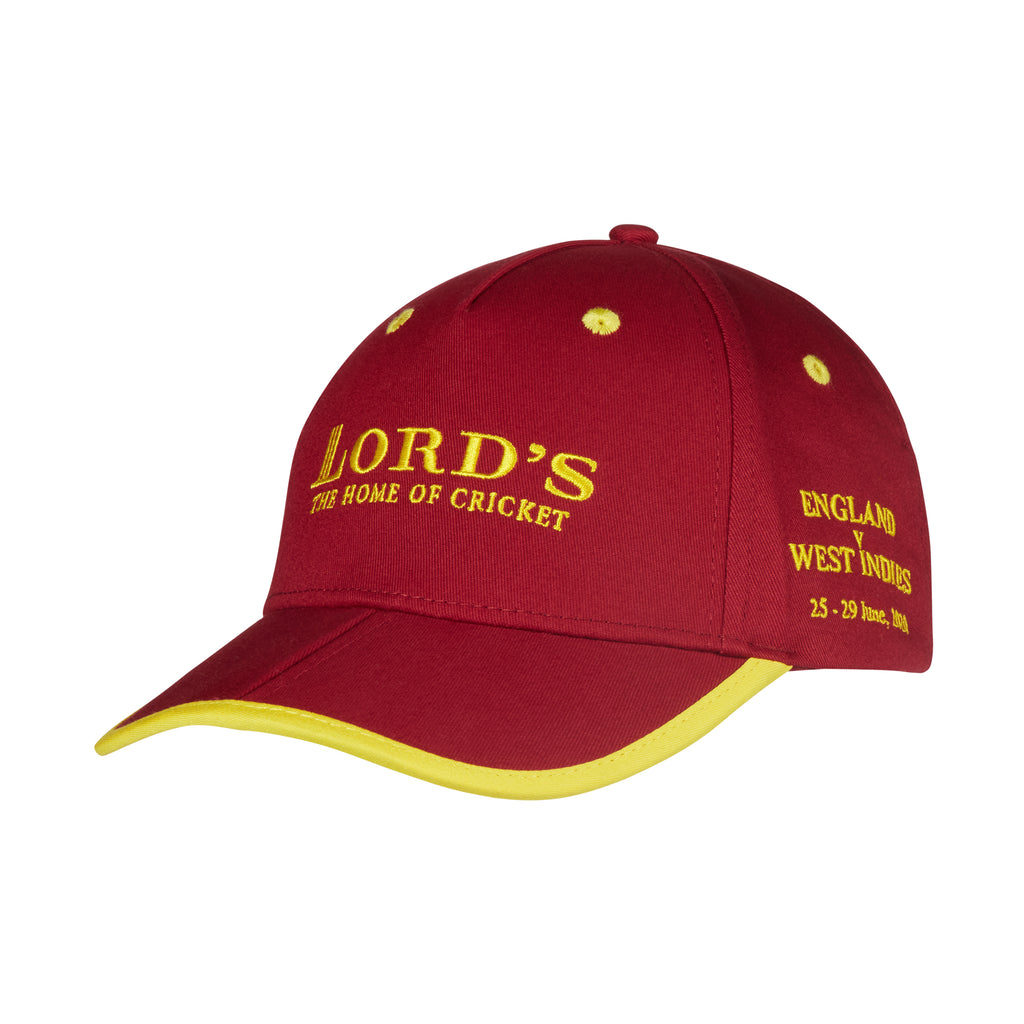 LORD'S ENGLAND V WEST INDIES EVENT CAP