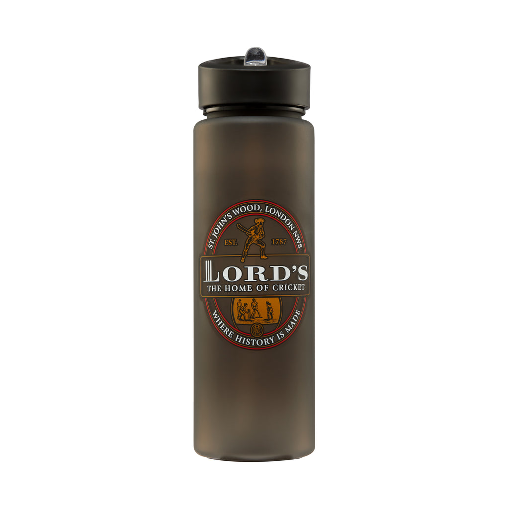 LORD'S GREY RE-USABLE PLASTIC WATER BOTTLE