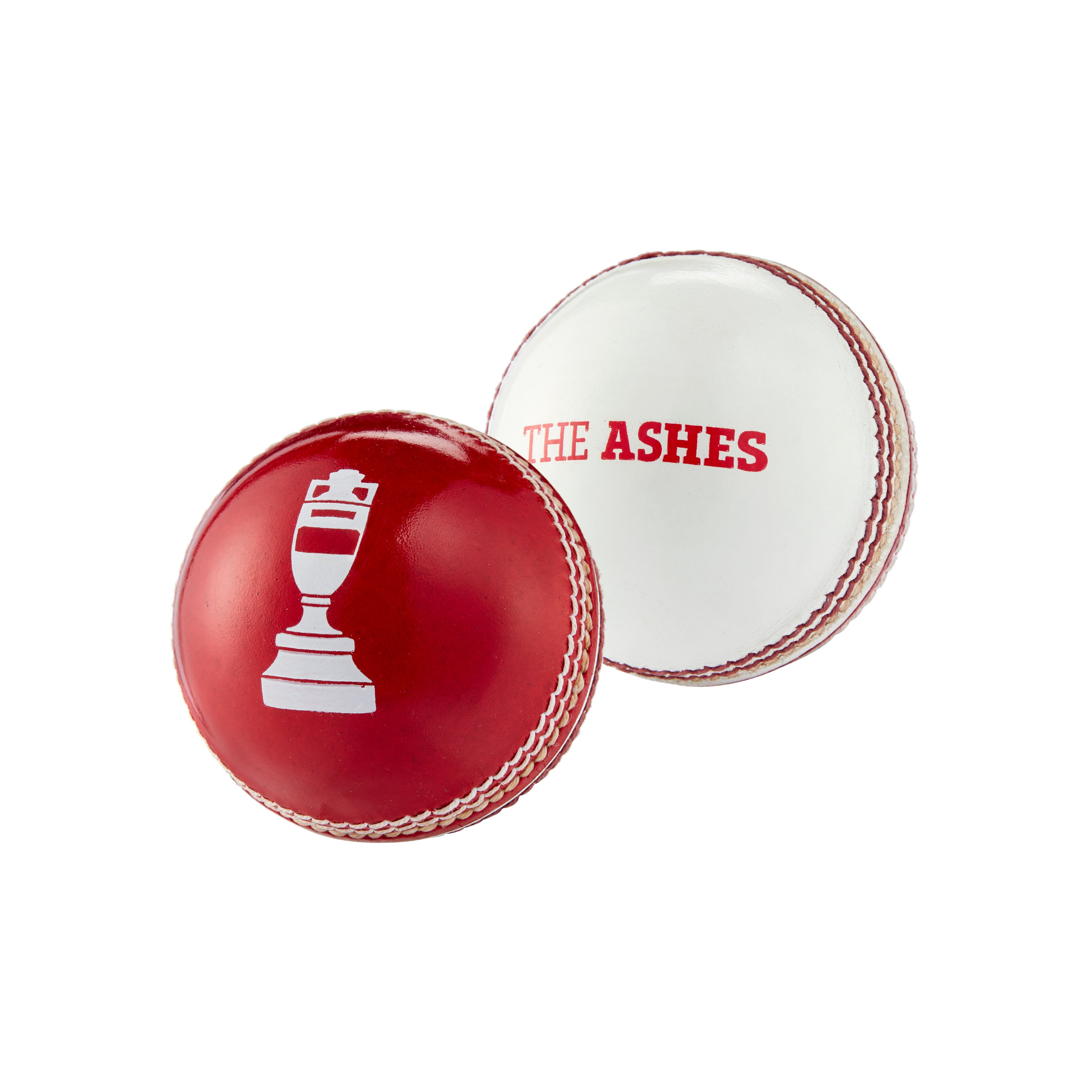 ASHES URN MINI BALL IN RED & WHITE