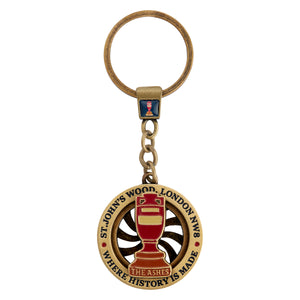ASHES URN SPINNER KEY RING