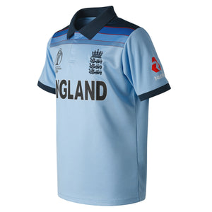 ENGLAND CRICKET REPLICA WORLD CUP SHIRT - ADULT