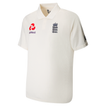 ENGLAND CRICKET REPLICA TEST SHIRT - CHILD