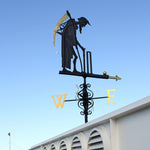 FATHER TIME WEATHERVANE