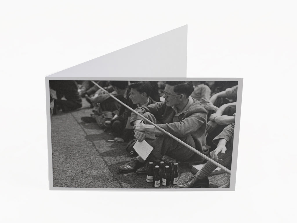 'A GOOD SUPPLY OF BEER' GREETING CARD & ENVELOPE