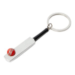 LORD'S PAVILION CRICKET BAT & BALL KEY RING