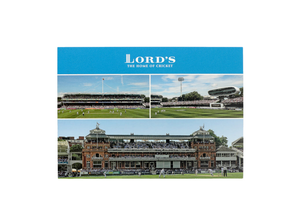 "LORD'S ""VIEWS OF THE GROUND"" POSTCARD"