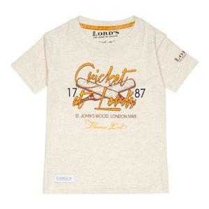 LORD'S 'CRICKET AT LORD'S' T-SHIRT - CHILD