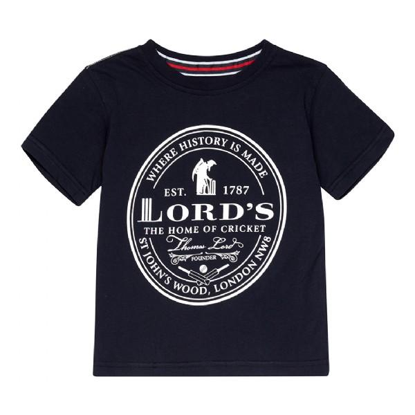 LORD'S OVAL BADGE T-SHIRT - CHILD