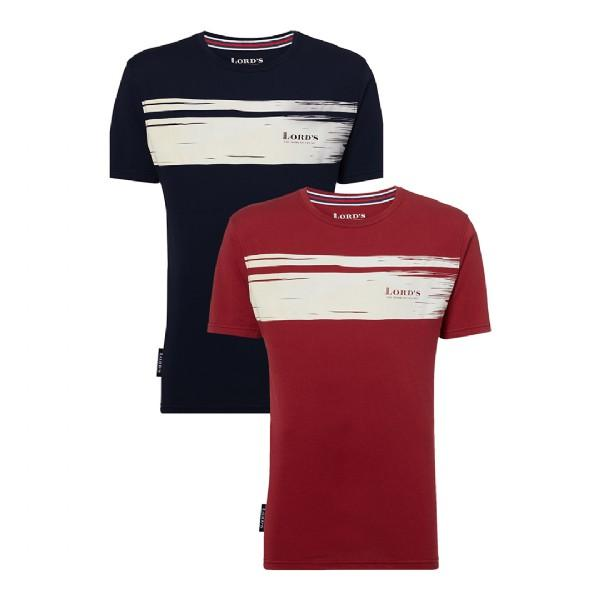 LORD'S 'DISTRESSED STRIPE' T-SHIRT - ADULT