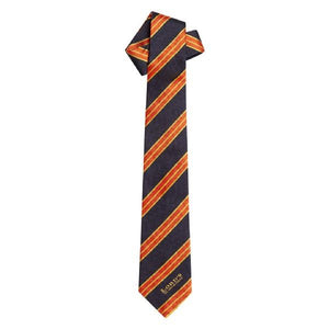 LORD'S STRIPE DESIGN SILK TIE