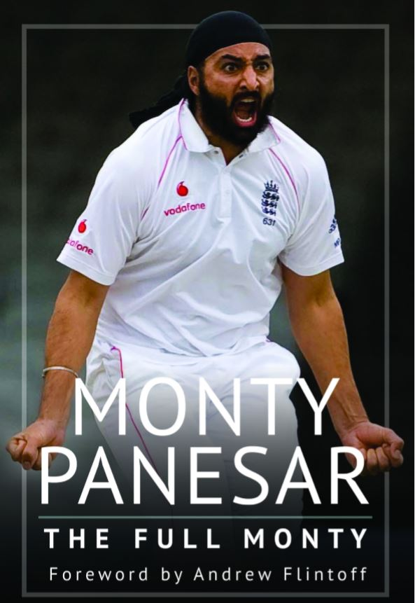 'THE FULLY MONTY' BY MONTY PANESAR - SIGNED COPY HARDBACK