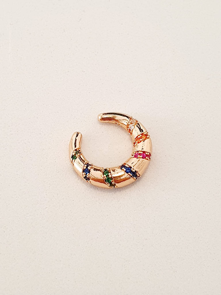 "Ear cuff a luna ""Boho"" gold"