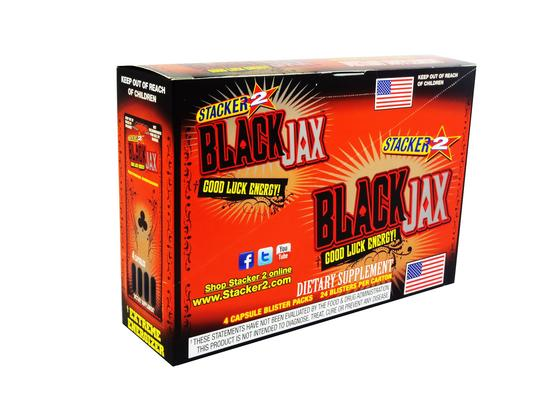 STACKER BLACK JAX 24CT