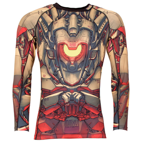 Tatami Fightwear Mech Warrior Rash Guard