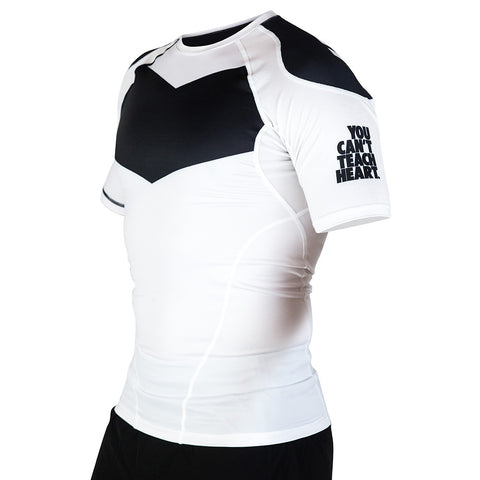 Hyperfly ProComp Supreme Short Sleeve Rash Guard White
