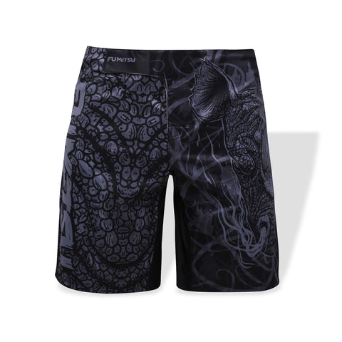 Fumetsu Rampage Fight Shorts Black/Grey