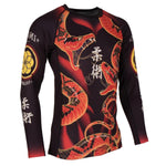 Tatami Fightwear Duelling Snakes Rash Guard