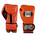 Cleto Reyes Velcro Boxing Gloves Orange