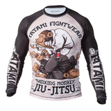 Tatami Fightwear Thinker Monkey Rash Guard