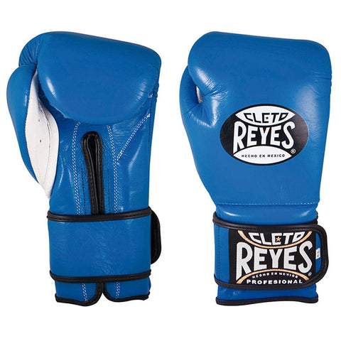 Cleto Reyes Velcro Boxing Gloves Blue
