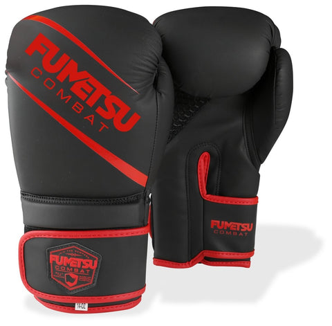 Fumetsu Shield Boxing Gloves Black/Red