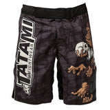 Tatami Fightwear Thinker Monkey Mens MMA Fight Shorts Black