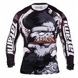 Tatami Fightwear Chess Gorilla Long Sleeve Mens Rash Guard