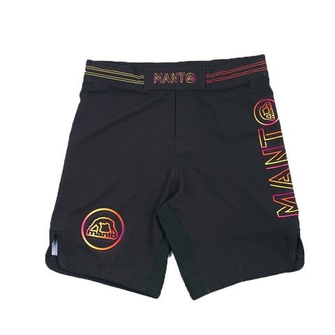 Manto Glow Fight Shorts Black