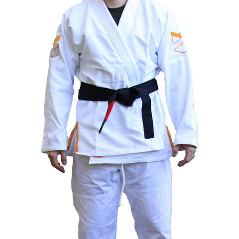 Hyperfly Hyperlyte BJJ Gi White/Orange