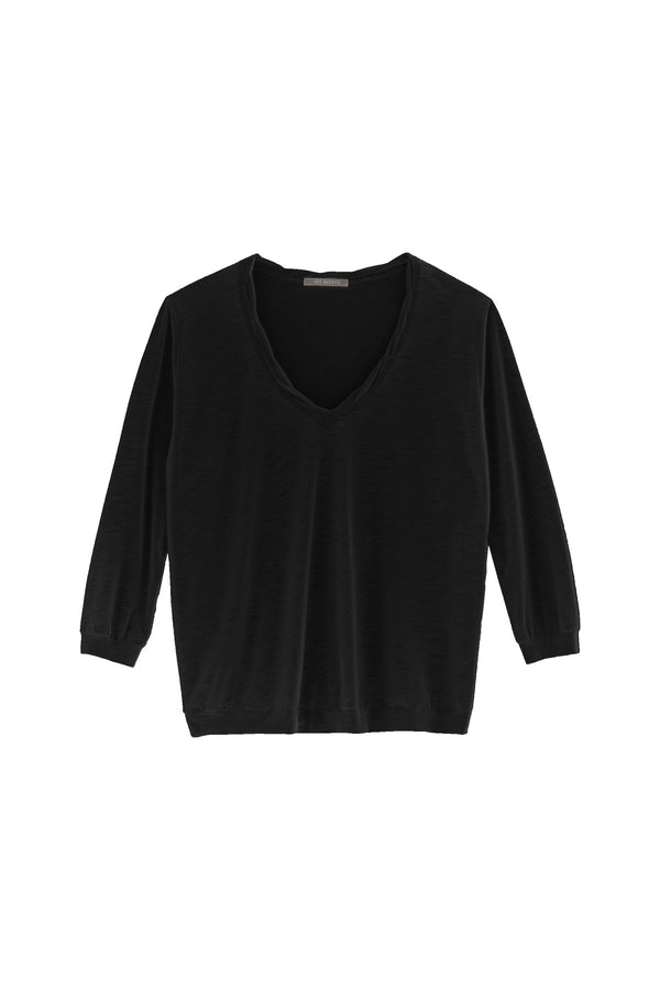 Blouse sport V neck
