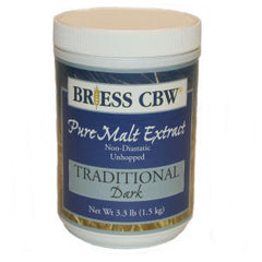 Briess Traditional Dark - 3.3 Lb Jar