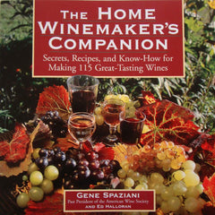 The Home Winemaker's Companion, By Ed Halloran