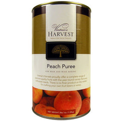 Vinters Harvest Peach Puree 49 oz can