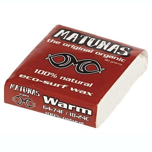 Matunas Warm Water Surf Wax - Eco Friendly Surf Shop
