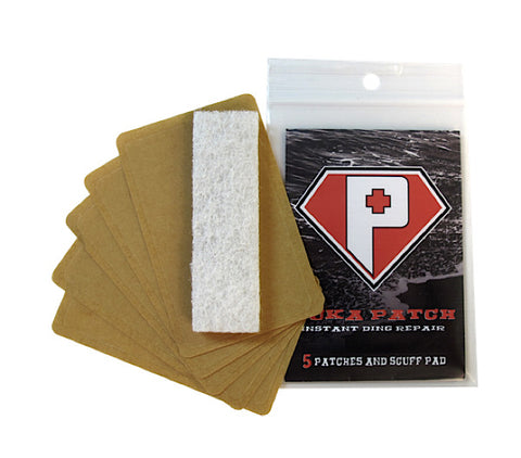 Ding Repair Puka Patch - 5pk - Eco Friendly Surf Shop