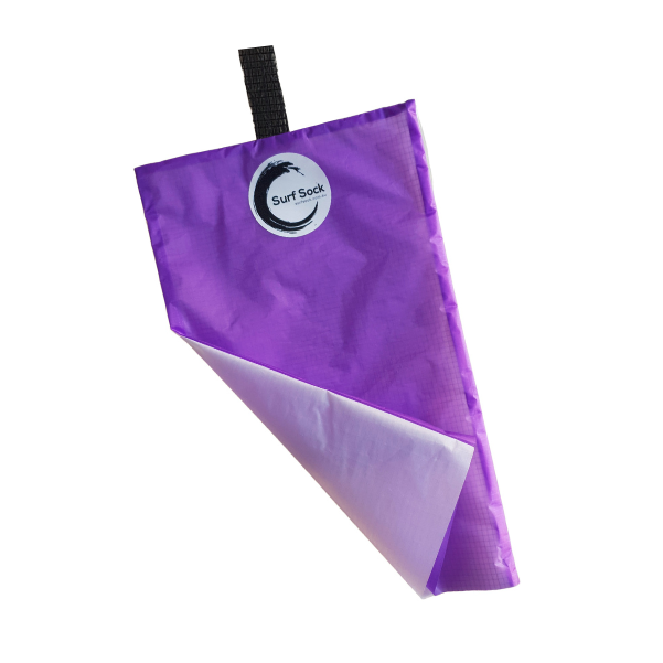 Surf-Sock-eco-friendly-surf-shop-purple-sustainable-surf-gear-wetsuit-sock-recycled-eco-friendly-wetsuit-sock