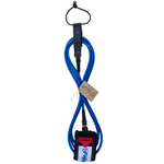 Folly-Co-eco-conscious-9ft-surf-leash-blue-eco-friendly-surf-shop-efss-sustainable-surfing-gear-9ft-eco-surf-leash-displayed